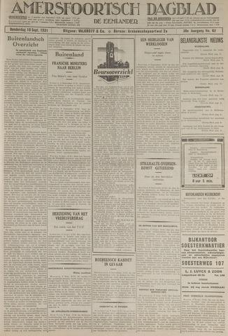 Amersfoortsch Dagblad / De Eemlander 1931-09-10