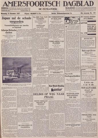 Amersfoortsch Dagblad / De Eemlander 1937-12-15