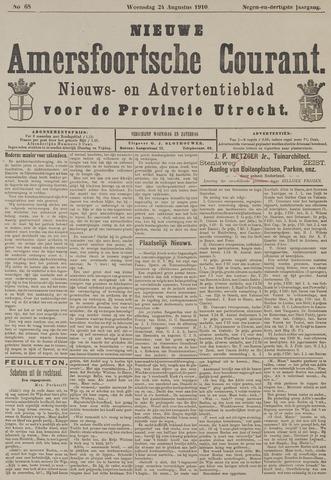 Nieuwe Amersfoortsche Courant 1910-08-24