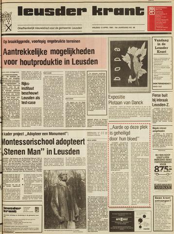 Leusder Krant 1985-04-12