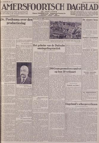 Amersfoortsch Dagblad / De Eemlander 1941-09-26