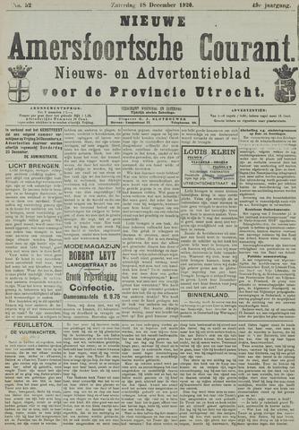 Nieuwe Amersfoortsche Courant 1920-12-18