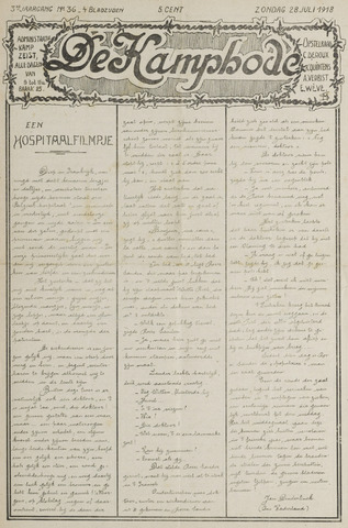 De Kampbode 1918-07-28