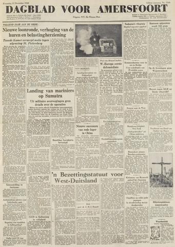 Dagblad voor Amersfoort 1948-12-22