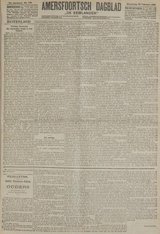 Amersfoortsch Dagblad / De Eemlander 1918-02-20