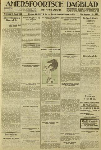 Amersfoortsch Dagblad / De Eemlander 1933-03-15