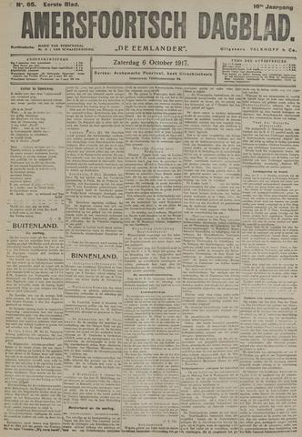 Amersfoortsch Dagblad / De Eemlander 1917-10-06