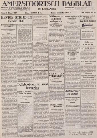 Amersfoortsch Dagblad / De Eemlander 1937-10-05