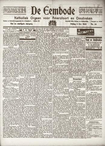 De Eembode 1930-10-03