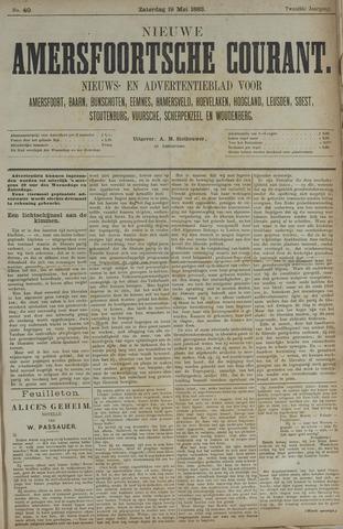 Nieuwe Amersfoortsche Courant 1883-05-19