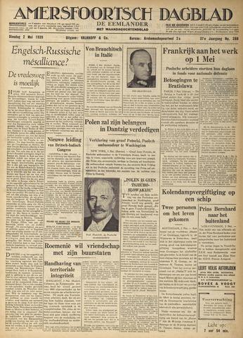 Amersfoortsch Dagblad / De Eemlander 1939-05-02