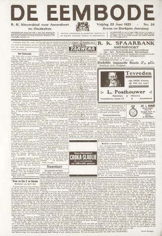 De Eembode 1923-06-22