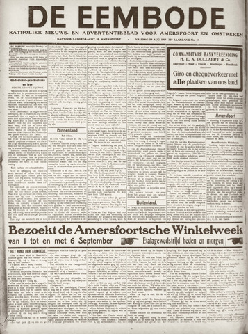 De Eembode 1919-08-29