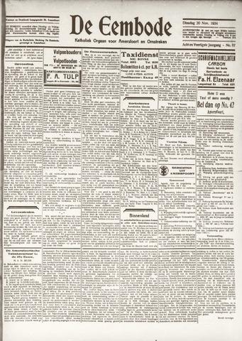 De Eembode 1934-11-20