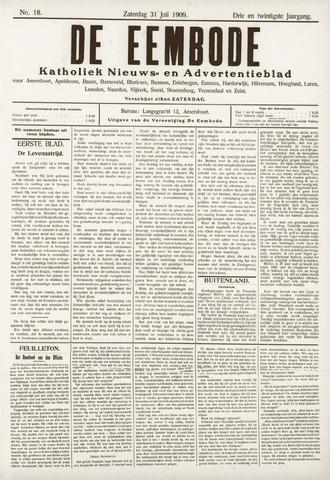 De Eembode 1909-07-31