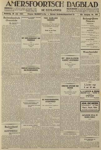 Amersfoortsch Dagblad / De Eemlander 1932-06-30