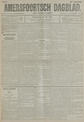 Amersfoortsch Dagblad / De Eemlander 1915-07-21