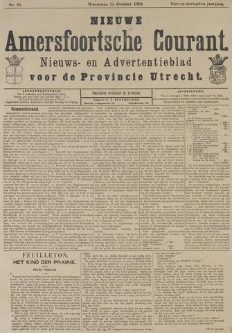Nieuwe Amersfoortsche Courant 1905-10-25