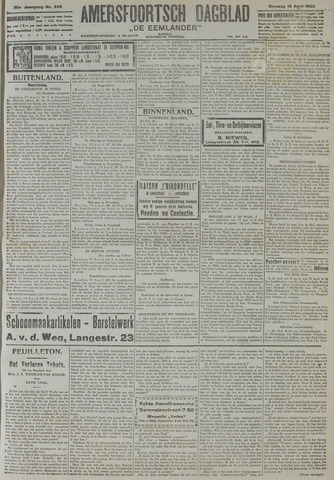 Amersfoortsch Dagblad / De Eemlander 1922-04-18