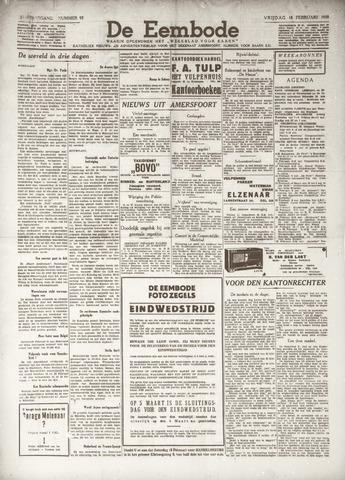 De Eembode 1938-02-18
