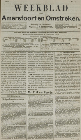 Weekblad voor Amersfoort en Omstreken 1872-11-16