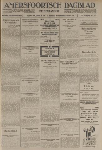 Amersfoortsch Dagblad / De Eemlander 1933-12-20