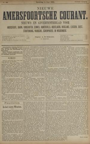 Nieuwe Amersfoortsche Courant 1884-06-14