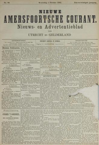 Nieuwe Amersfoortsche Courant 1892-10-05