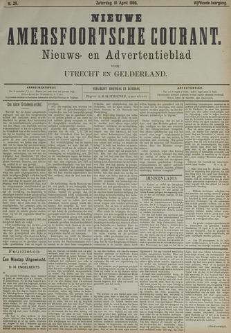 Nieuwe Amersfoortsche Courant 1886-04-10