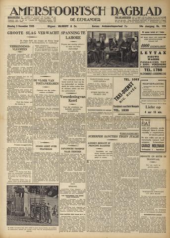 Amersfoortsch Dagblad / De Eemlander 1935-12-03