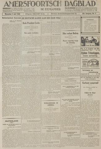 Amersfoortsch Dagblad / De Eemlander 1930-07-02