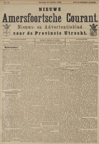 Nieuwe Amersfoortsche Courant 1899-10-21