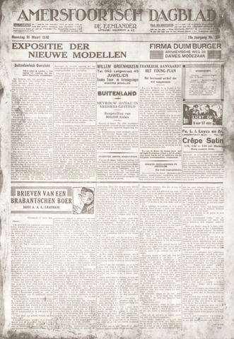 Amersfoortsch Dagblad / De Eemlander 1930-03-31