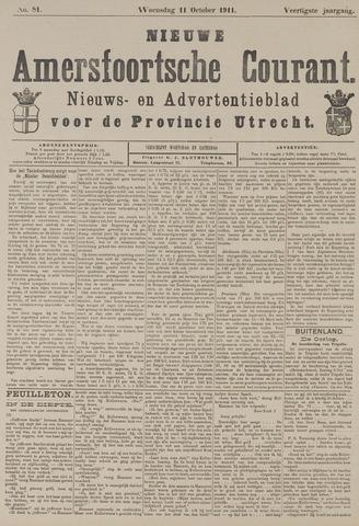 Nieuwe Amersfoortsche Courant 1911-10-11