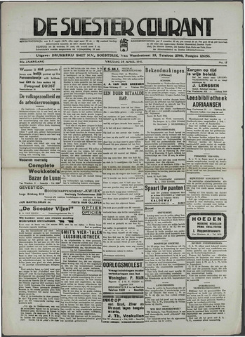 Soester Courant 1941-04-25
