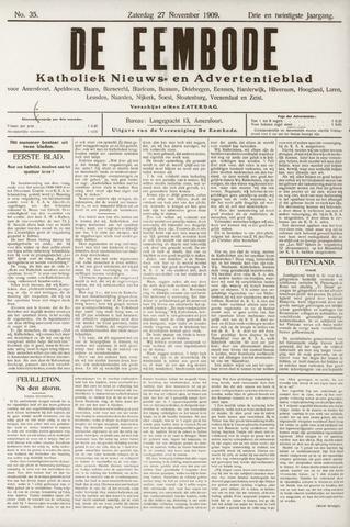 De Eembode 1909-11-27
