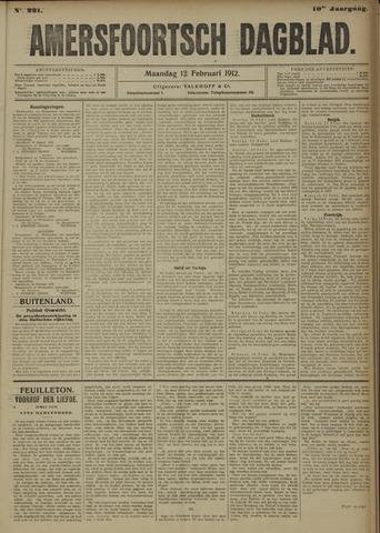 Amersfoortsch Dagblad 1912-02-12