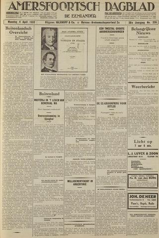 Amersfoortsch Dagblad / De Eemlander 1932-04-04