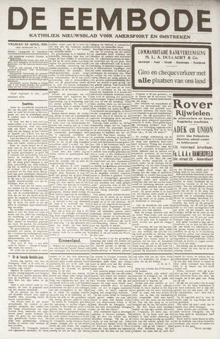 De Eembode 1920-04-23