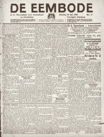 De Eembode 1926-05-18