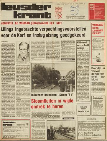 Leusder Krant 1981-09-29
