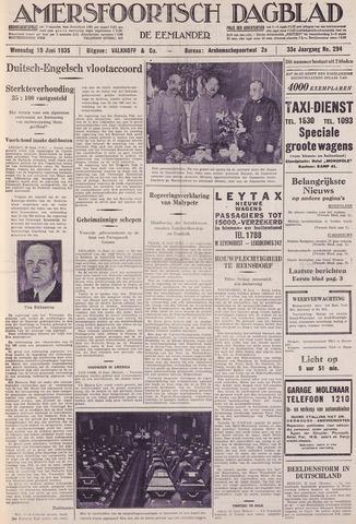 Amersfoortsch Dagblad / De Eemlander 1935-06-19