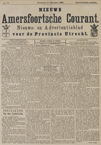 Nieuwe Amersfoortsche Courant 1906-09-12