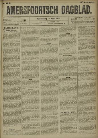 Amersfoortsch Dagblad 1908-04-15