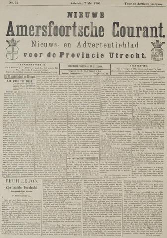 Nieuwe Amersfoortsche Courant 1903-05-02
