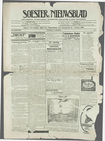 Soester Courant 1938-01-07