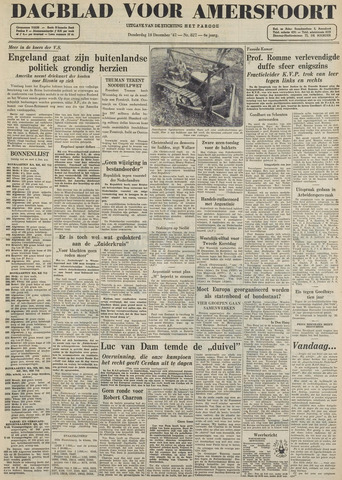 Dagblad voor Amersfoort 1947-12-18