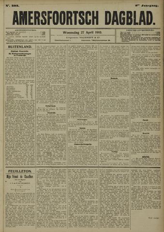 Amersfoortsch Dagblad 1910-04-27
