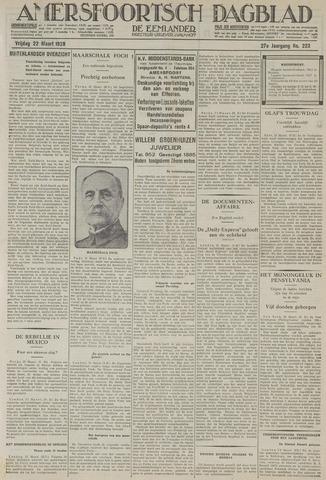 Amersfoortsch Dagblad / De Eemlander 1929-03-22