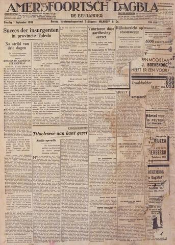 Amersfoortsch Dagblad / De Eemlander 1936-09-01